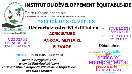 INSTITUT DU DEVELOPPEMENT EQUITABLE(3)